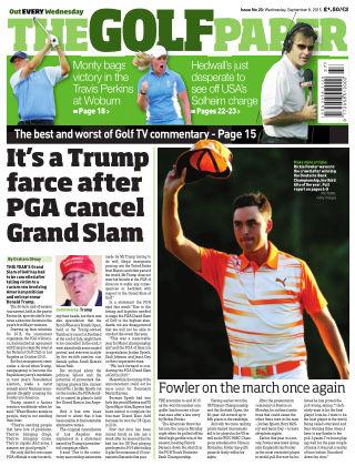 The Golf Paper  9th September 2015
