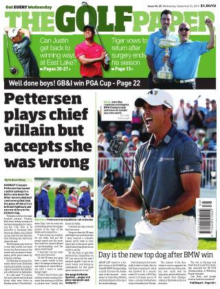 The Golf Paper  23rd September 2015