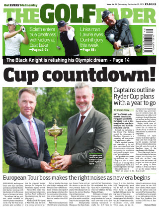 The Golf Paper  30st September 2015