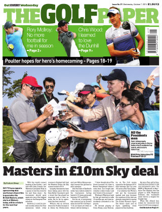 The Golf Paper  7th October 2015