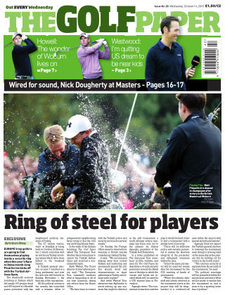 The Golf Paper  14th October 2015