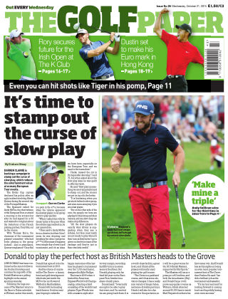 The Golf Paper  21st October 2015