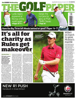 The Golf Paper  28th October 2015