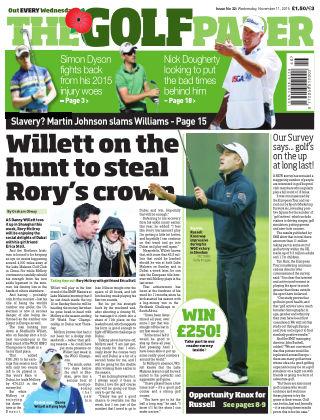 The Golf Paper  11th November 2015