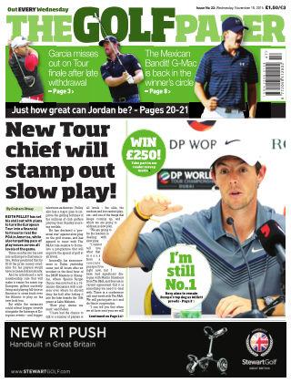 The Golf Paper  18th November 2015