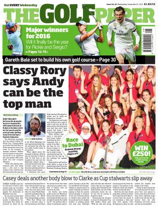 The Golf Paper  25th November 2015