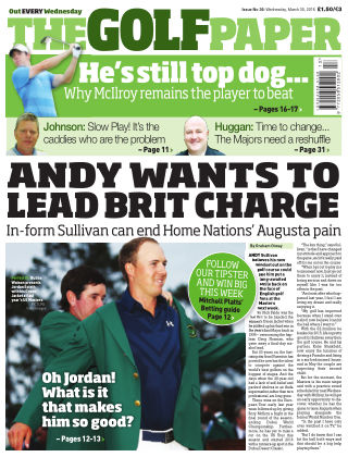 The Golf Paper  30th March 2016