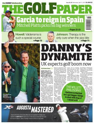 The Golf Paper  13th April 2016