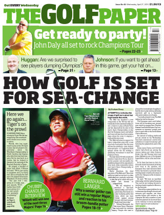 The Golf Paper  27th April 2016