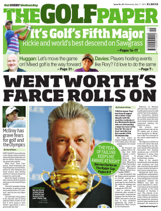 The Golf Paper  11th May 2016