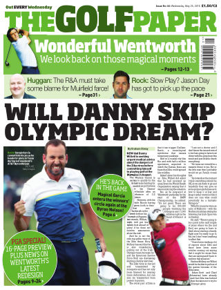 The Golf Paper  25th May 2016