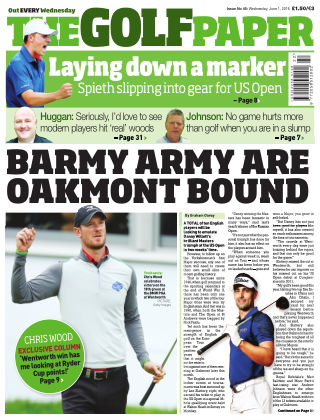 The Golf Paper  1st June 2016