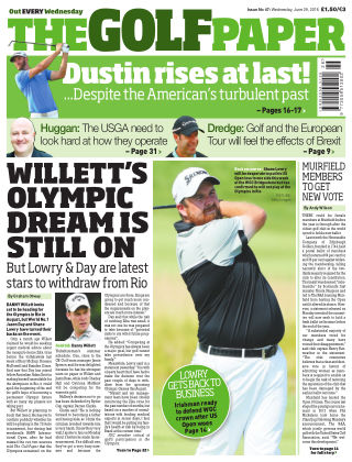 The Golf Paper  29th June 2016