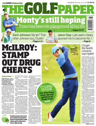 The Golf Paper  13th July 2016