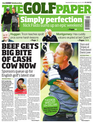 The Golf Paper  20th July 2016