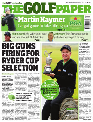 The Golf Paper  27th July 2016