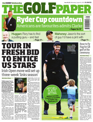 The Golf Paper  3rd August 2016