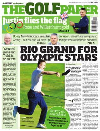 The Golf Paper  10th August 2016