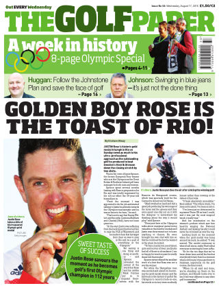 The Golf Paper  17th August 2016