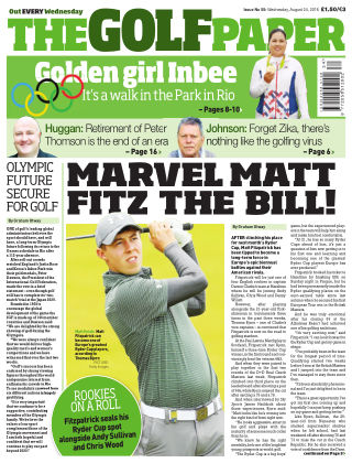 The Golf Paper  24th August 2016