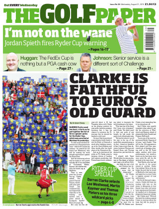 The Golf Paper  31nd August 2016