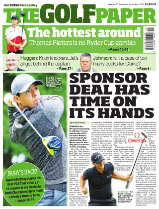 The Golf Paper  7th September 2016
