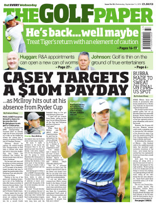 The Golf Paper  14th September 2016
