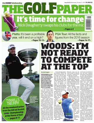 The Golf Paper  12th October 2016