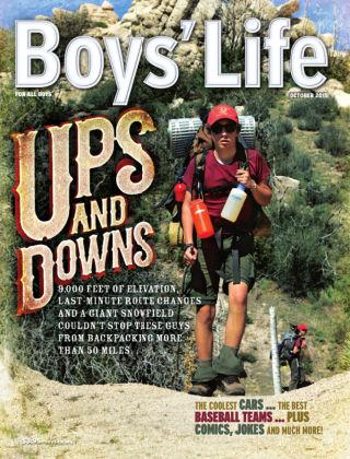 Boys' Life October 2015