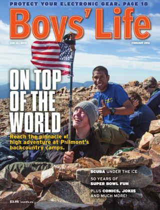 Boys' Life February 2016