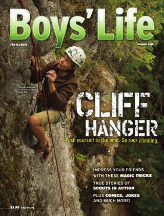 Boys' Life March 2016