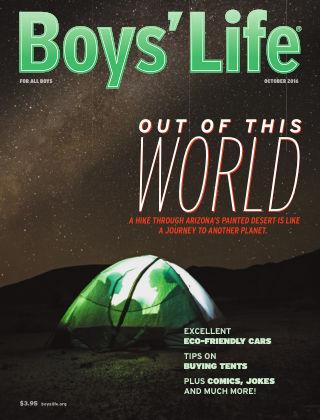 Boys' Life October