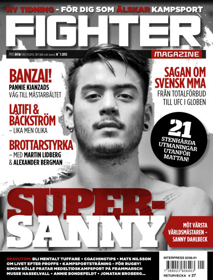 Fighter Magazine (Inga nya utgåvor) April 21, 2015 00:00