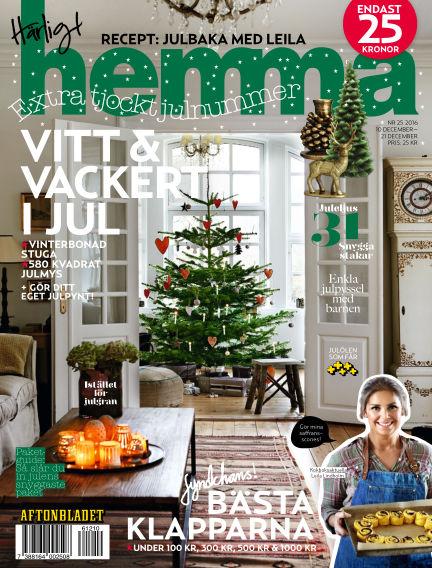 Härligt hemma December 10, 2016 00:00