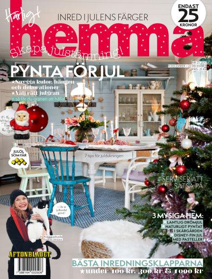 Härligt hemma December 09, 2017 00:00
