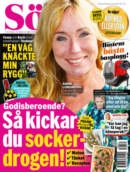 Aftonbladet Söndag August 30, 2015 00:00