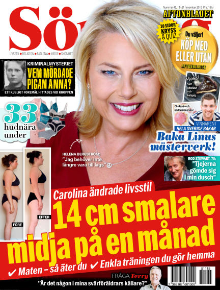Aftonbladet Söndag November 15, 2015 00:00