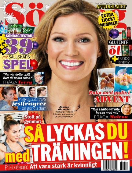 Aftonbladet Söndag November 27, 2016 00:00