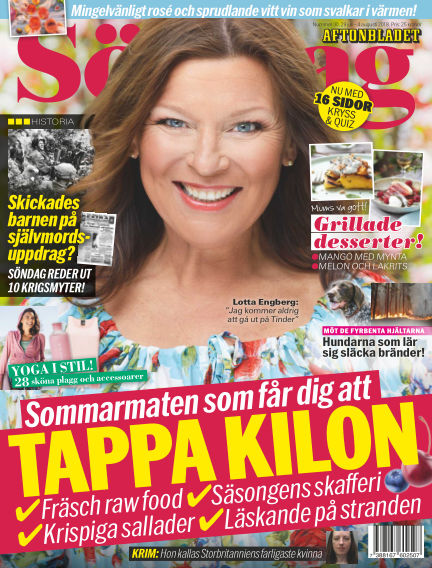 Aftonbladet Söndag July 29, 2018 00:00