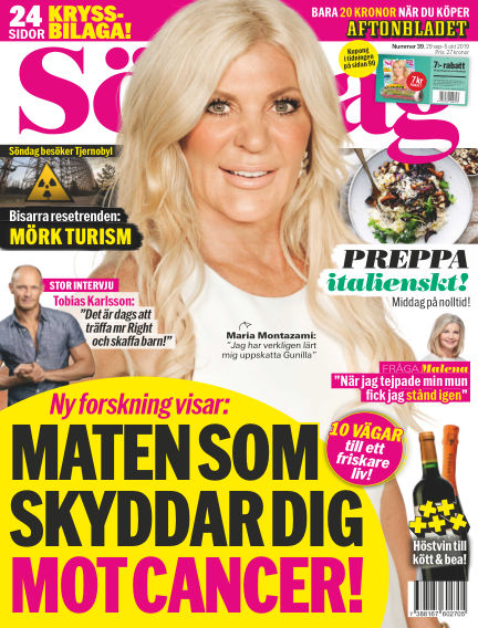 Aftonbladet Söndag September 29, 2019 00:00
