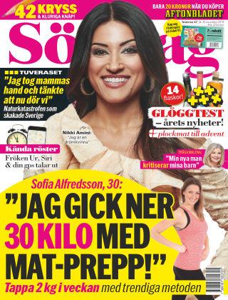 Aftonbladet Söndag 2019-11-24
