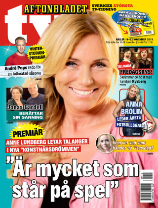 Aftonbladet TV 2016-11-14