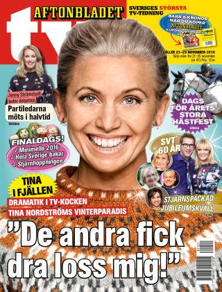Aftonbladet TV 2016-11-21