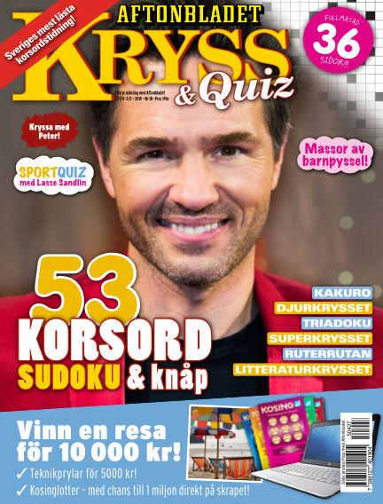 Kryss & Quiz (Inga nya utgåvor) April 27, 2015 00:00