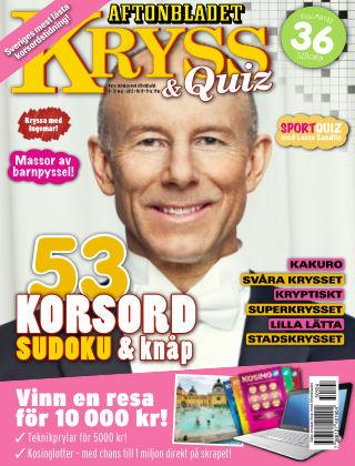 Kryss & Quiz (Inga nya utgåvor) 2015-05-04