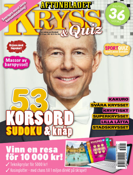 Kryss & Quiz (Inga nya utgåvor) May 04, 2015 00:00