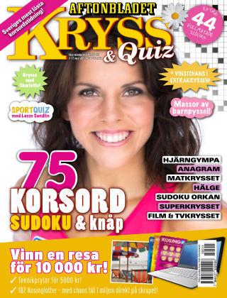 Kryss & Quiz (Inga nya utgåvor) 2015-05-11