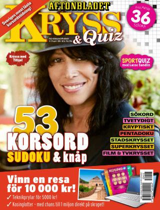 Kryss & Quiz (Inga nya utgåvor) 2015-04-13