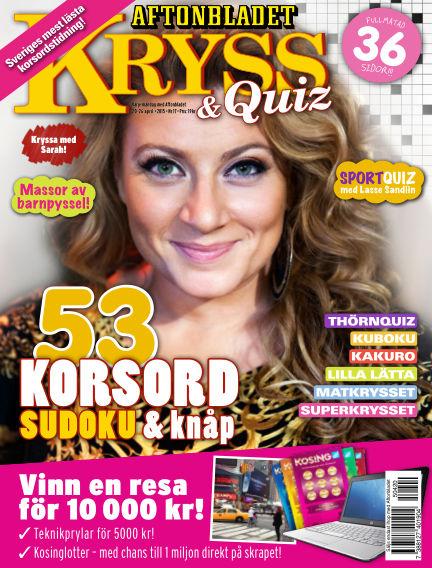 Kryss & Quiz (Inga nya utgåvor) April 20, 2015 00:00