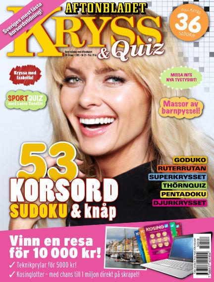 Kryss & Quiz (Inga nya utgåvor) May 18, 2015 00:00